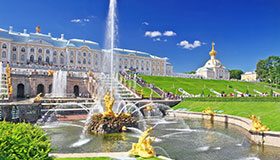 Splendid St. Petersburg tour