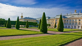 Ferry day trip with the Hermitage and Peterhof