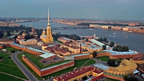 Ferry day trip with the Hermitage, Peter and Paul fortress and Church on the Spilt Blood
