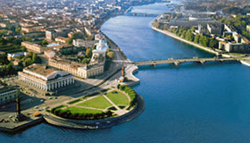 St. Petersburg Highlights City tour